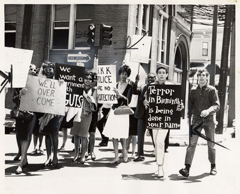Students parading against segregation May 18 1963 AAK-0871.jpg