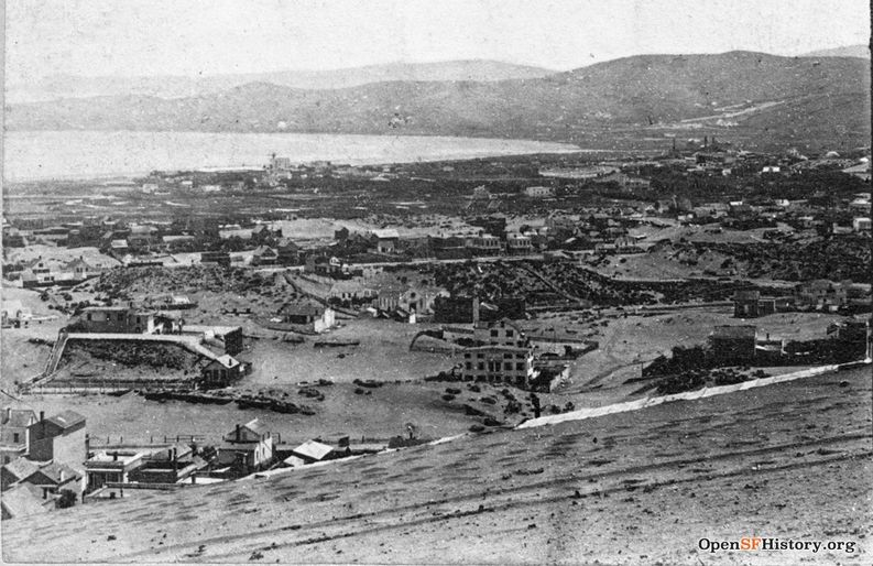 View south from Sacramento and Taylor across Tenderloin and SOMA c 1857 wnp37.00897-L.jpg