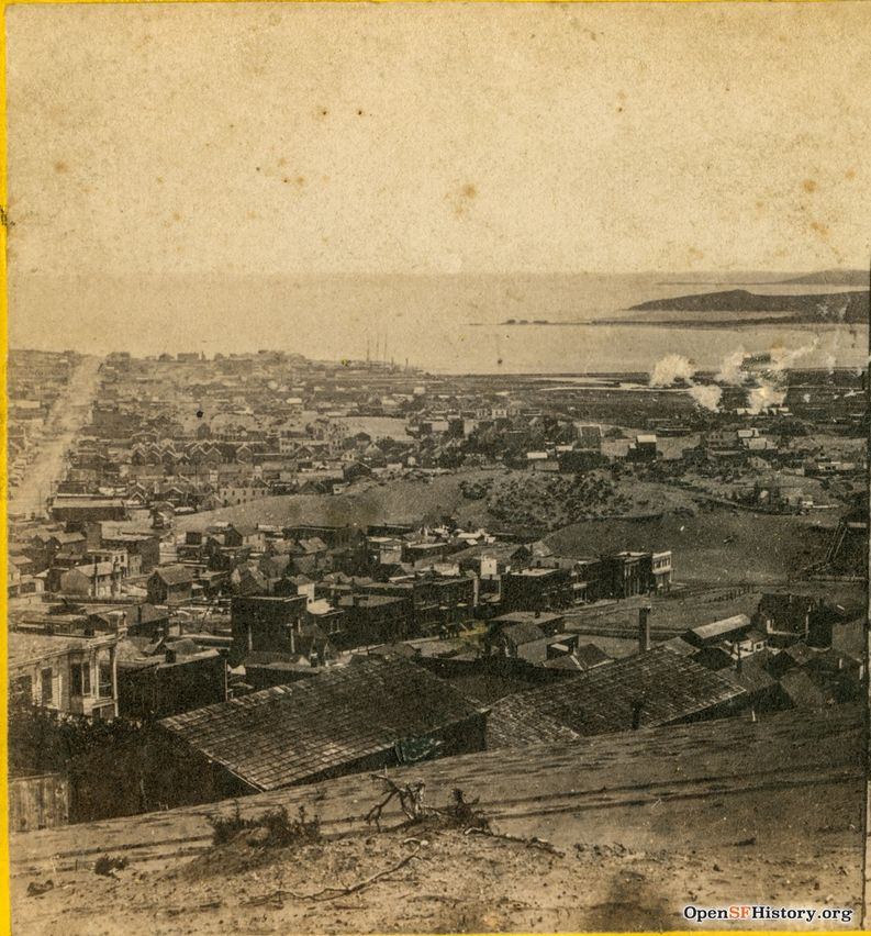 View from Sacramento and Taylor towards Mission Bay 1860 wnp24.0149a.jpg